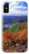 Wantatisquet Mountain Foliage IPhone Case