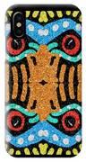 War Eagle Totem Mosaic IPhone Case