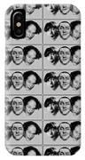 Warhol - Three Stooges Andy Warhol IPhone Case