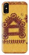 Warli Ceremony IPhone Case