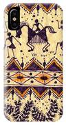 Warli Procession IPhone Case