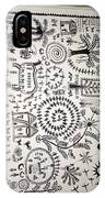 Warli Tribal Painting  IPhone Case