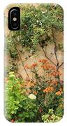 Warm Colors In Mission Garden IPhone Case