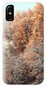 Warm Light Snow IPhone Case