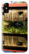 Warner Covered Bridge IPhone Case