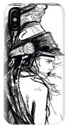 Warrior Girl 1 IPhone Case