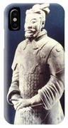 Warrior Of The Terracotta Army IPhone Case