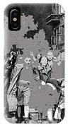 Warsaw Ghetto Uprising Number 1 1943 Color Added 2016 IPhone Case