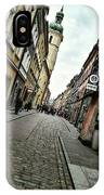 Warsaw, The Old Town IPhone Case