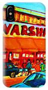 Warshaws Fruitstore On Main Street IPhone Case