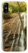 Wash Hollow Falls Nantahala National Forest Nc IPhone Case