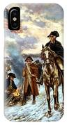 Washington At Valley Forge IPhone Case