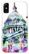 Washington Capitol Color 1 IPhone Case