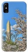 Washington Monument # 11 IPhone Case