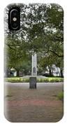 Washington Park, Charleston, Sc IPhone Case