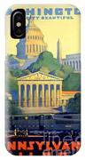 Washington The City Beautiful  IPhone Case