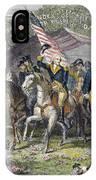 Washington: Trenton, 1789 IPhone Case
