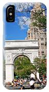 Washingtone Square New York IPhone Case