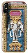 Wat Chedi Mae Krua Wihan Veranda Rail Decorations Dthcm1847 IPhone Case