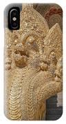 Wat Kumpa Pradit Phra Wihan Five-headed Naga Dthcm1664 IPhone Case