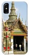 Wat Po Bangkok Thailand 16 IPhone Case