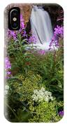 Water And Flowers IPhone Case