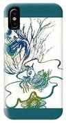 Water Color Poster Of Good And Evil IPhone Case
