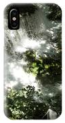 Water Fall In The Woods IPhone Case