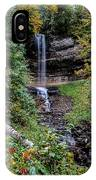 Water Falls In Autumn IPhone Case