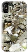 Water Flowing 6 IPhone Case