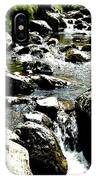 Water Flowing 7 IPhone Case