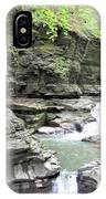Water Flowing Through The Gorge IPhone Case