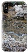 Water Going To The Falls IPhone Case