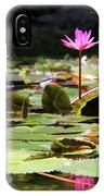 Water Lilies Tam Coc  IPhone Case