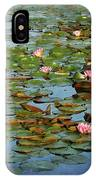 Water Lily Ballet IPhone Case
