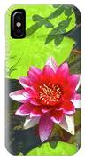 Water Lily In Pond IPhone Case
