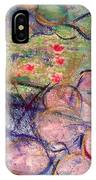 Water Lily Monotype IPhone Case