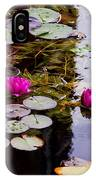 Water Lily Near Rijksmuseum Museum IPhone Case