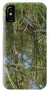 Water Pond Reflection In Peters Canyon IPhone Case