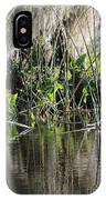 Water Reeds And Spanish Moss IPhone Case