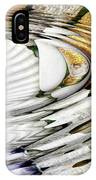 Water Ripples Above Sea Shells IPhone Case