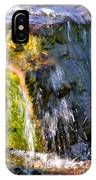 Water Running Over Rocks IPhone Case