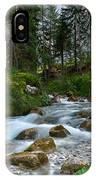 Water Rushing Down IPhone X Case