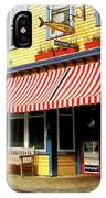 Water Street Cafe IPhone Case