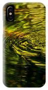 Water Swirl IPhone Case