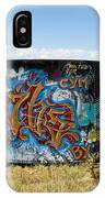 Water Tank Graffiti IPhone Case
