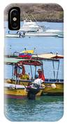 Water Taxis Waiting IPhone Case