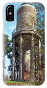 Water Tower In Malmi Cemetery IPhone Case