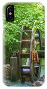 Water Wheel In The Woods IPhone Case