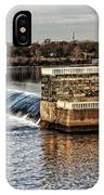 Water Works Gazebo IPhone Case
